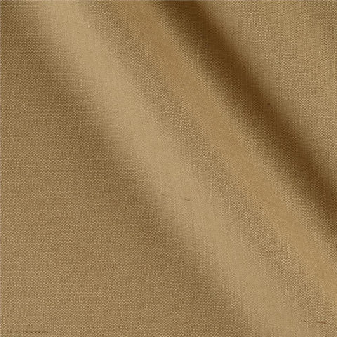 Biege Solid Polycotton Fabric