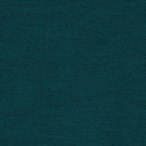 Teal Solid Poly Linen Fabric
