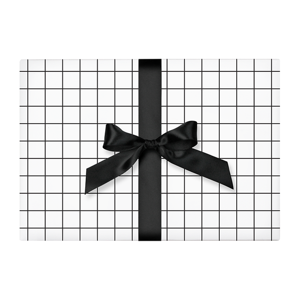 Grid Wrapping Paper