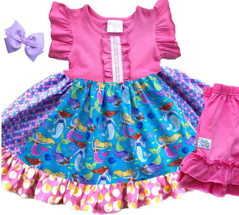 Mermaid Lagoon dress