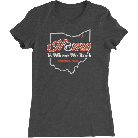 Cleveland is Home Women's T-Shirt