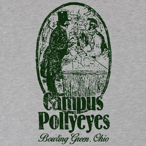 Bowling Green Campus Pollyeyes Ladies Slim Fit T-Shirt