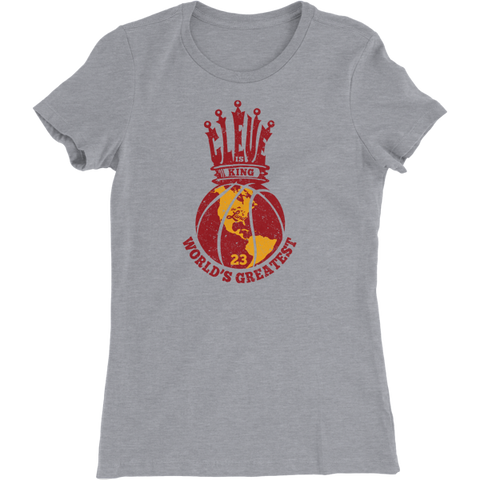 Cleveland is King Basketball Women's T-Shirt