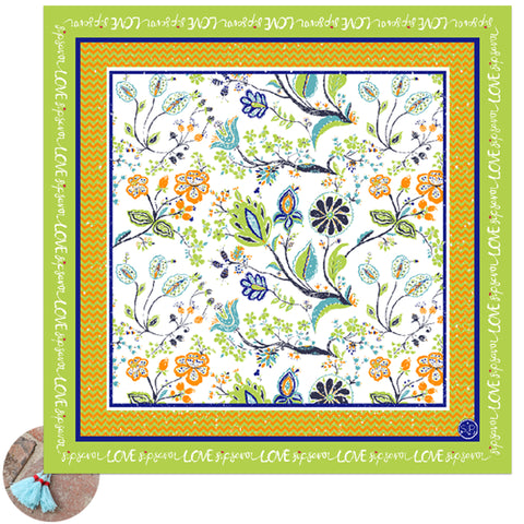 21 Dance - Picnic Cloth/Table Scarf -