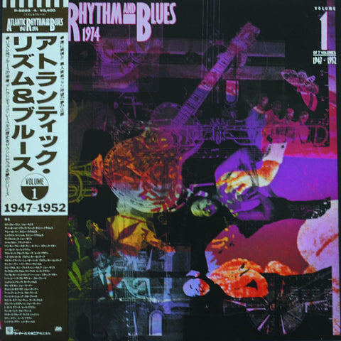 Various ‎– Atlantic Rhythm & Blues 1947-1974 (Volume 1 1947-1952)
