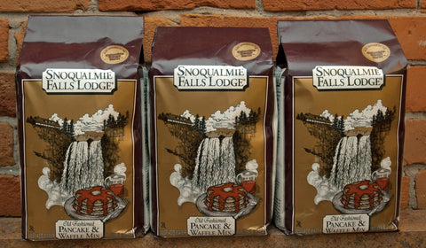 "Snoqualmie Falls Lodge ""Old Fashioned"" Pancake & Waffle Mix (Bag)"