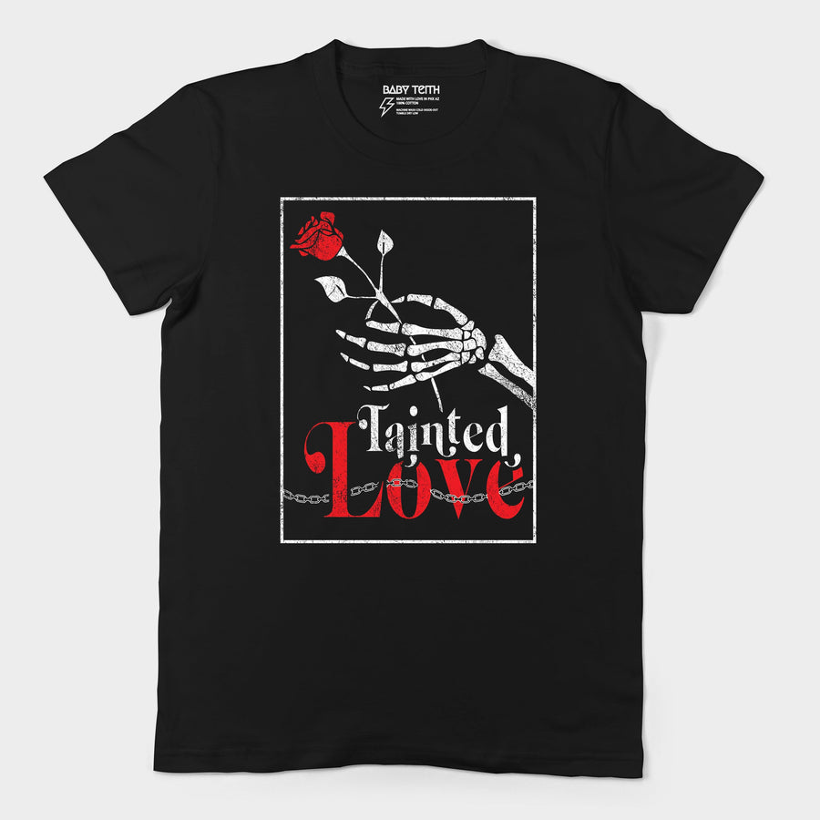 """Tainted Love"" Unisex Tee for Adults"