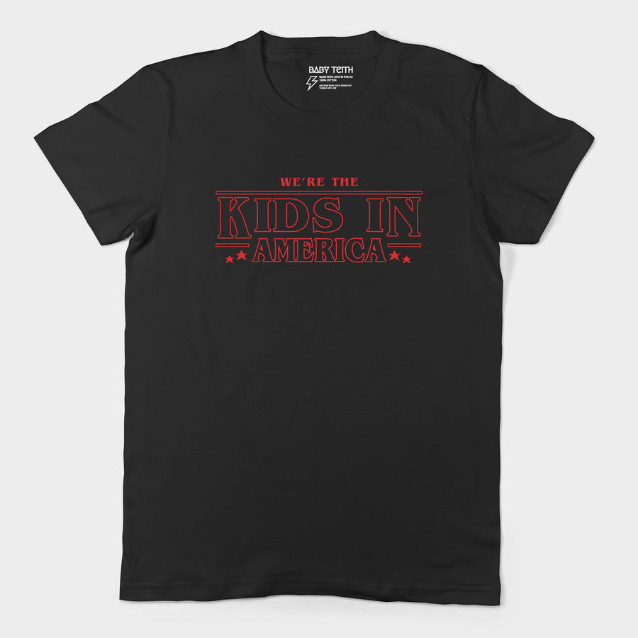 Kids in American Tee for Adults