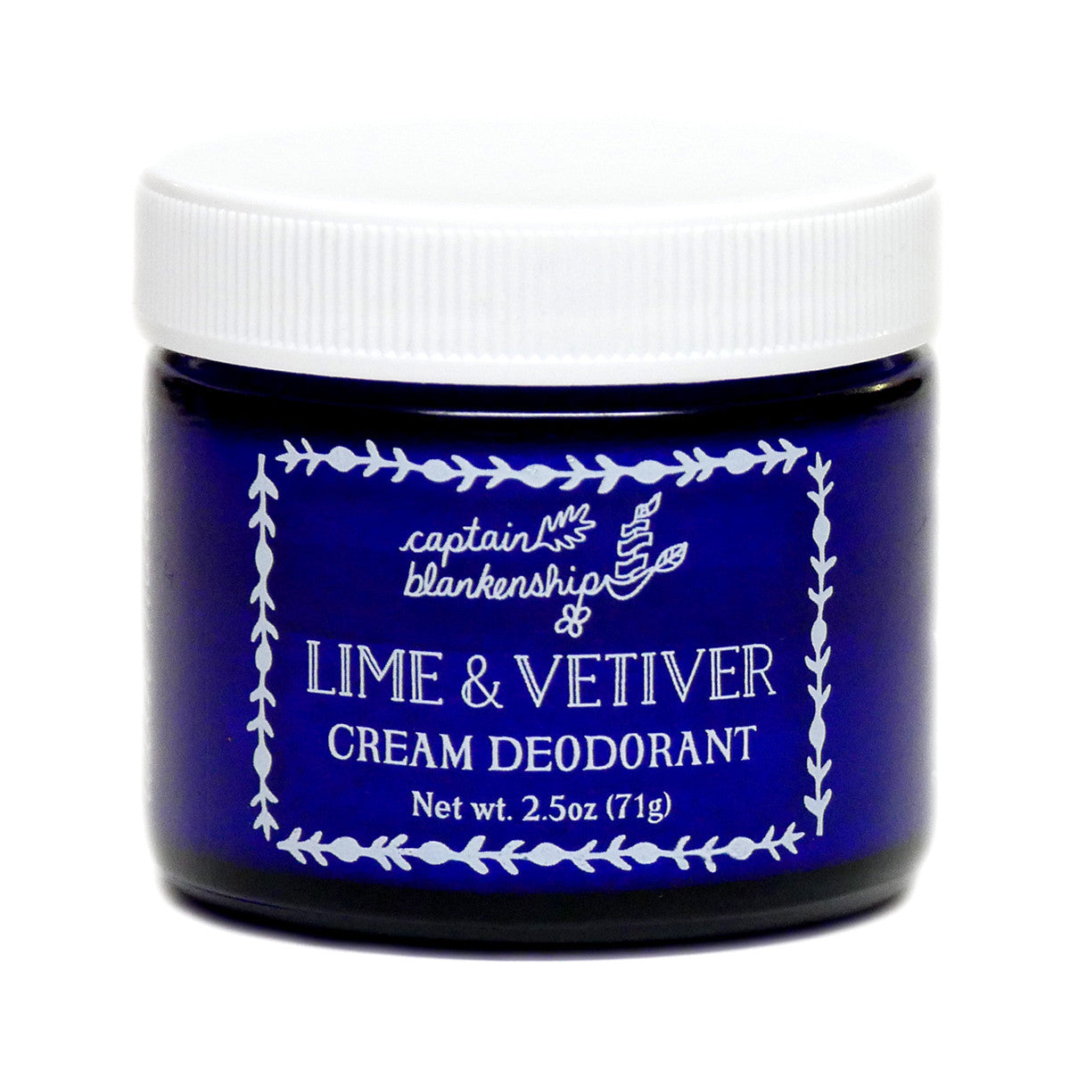 Lime Vetiver cream deodorant