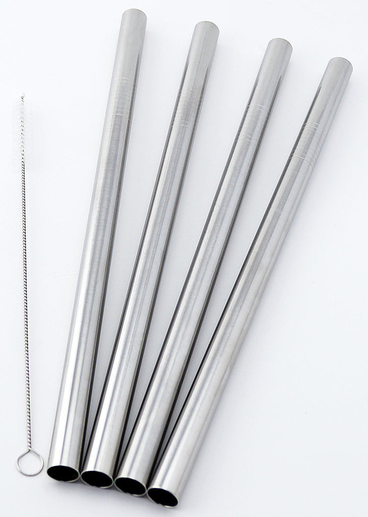 Bubble Tea EXTRA Wide Stainless Steel Smoothie Straws