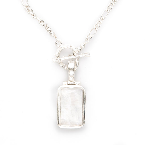 Moonstone Pendant Chain