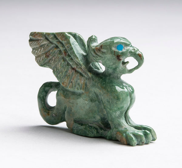 Fascinating Turquoise Gryphon