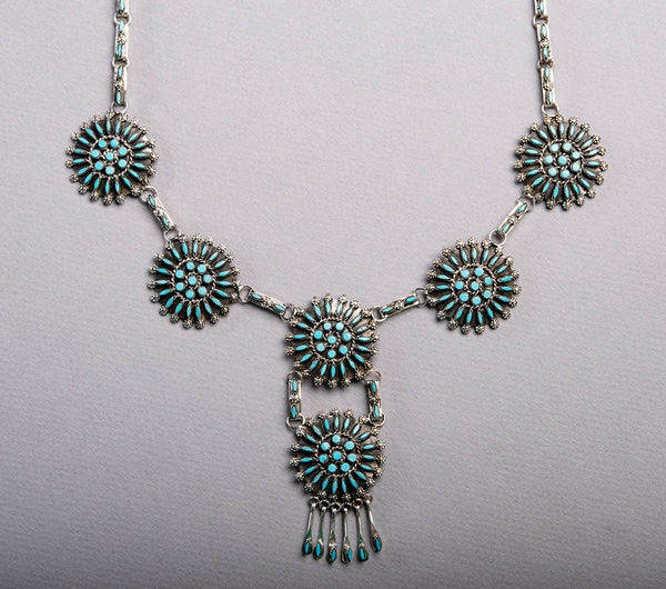 Dazzling Petit Point Necklace