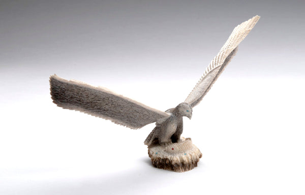 Antler Eagle With Carp