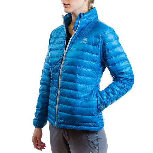 Women's 850 Fill HL Down Jacket Mediterranean blue