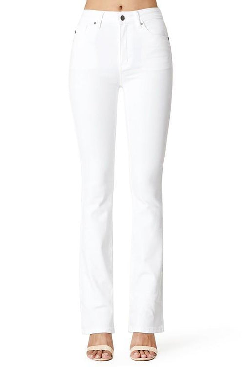 Marie White Denim Boot Cut Jeans
