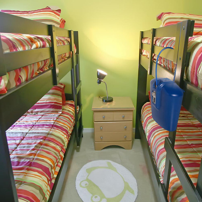 blue safe for college dorm and sleepaway camp
