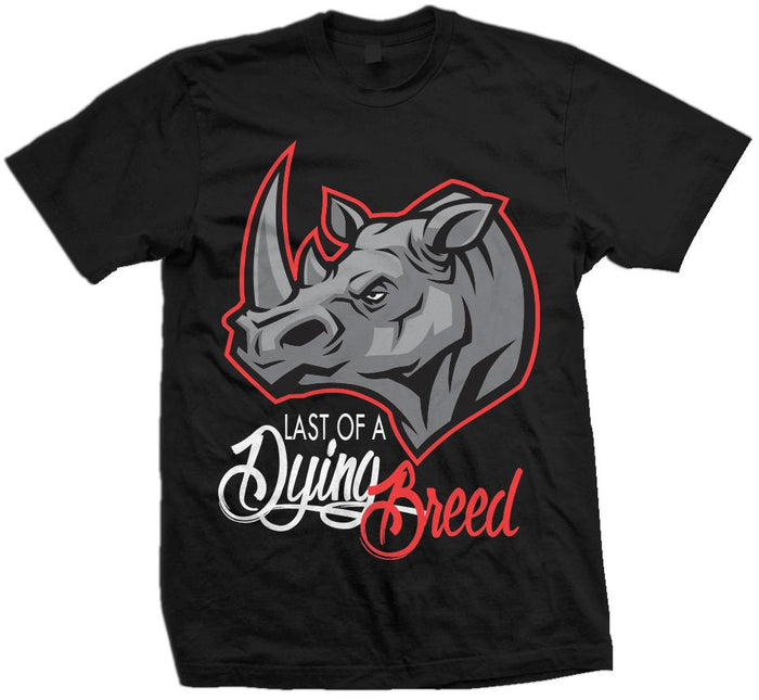 Last of a Dying Breed - Infrared on Black T-Shirt