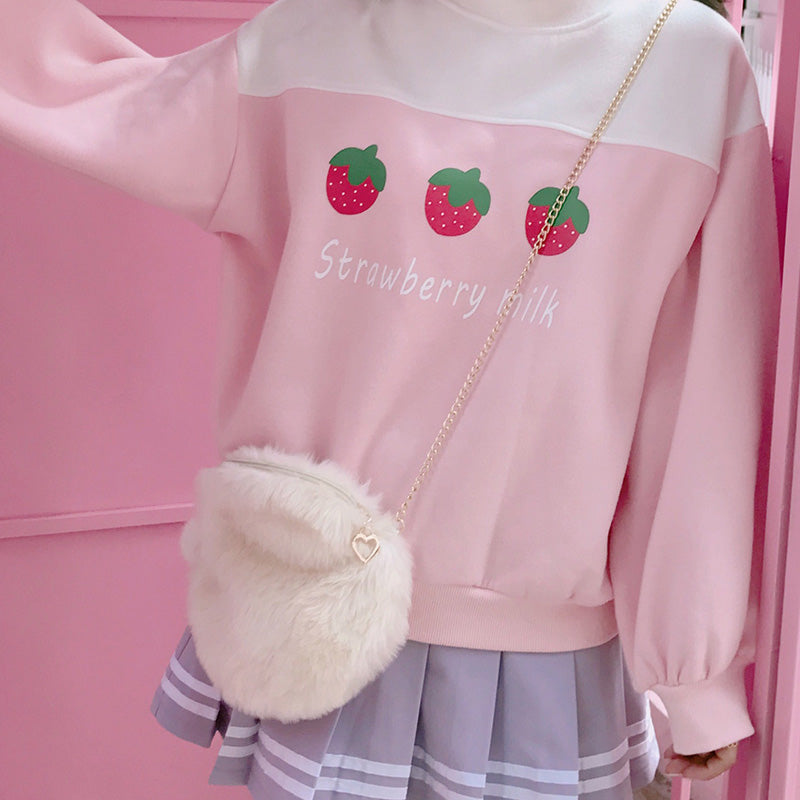 Sweet Japanese Strawberry Sweatshirt SE20033