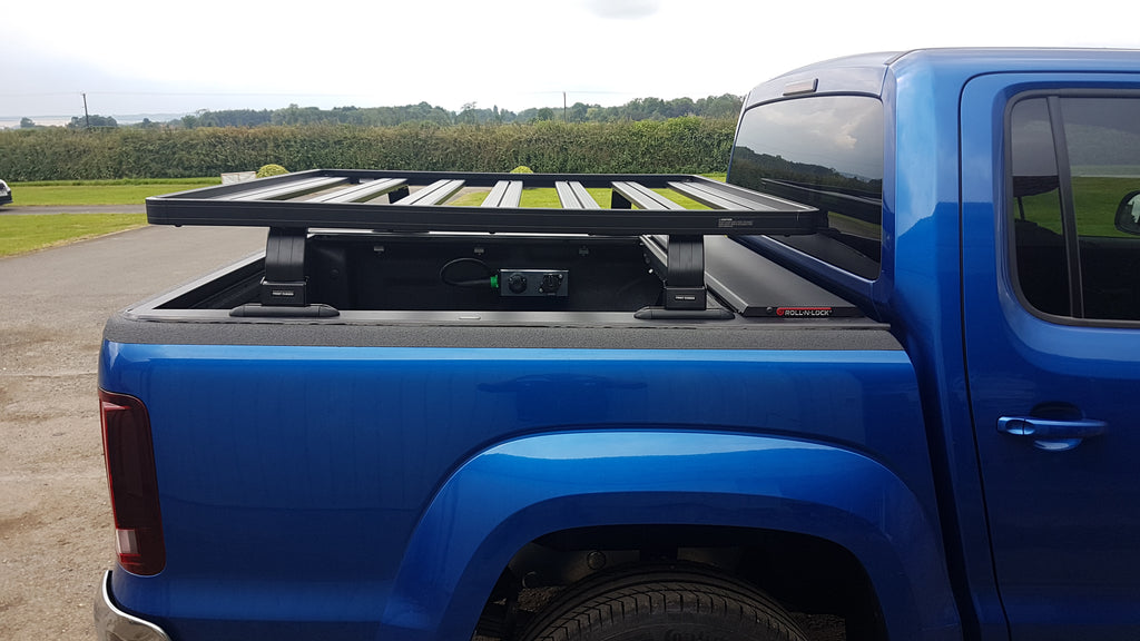VW Amarok Roof Tent with Roller Slider & Bakkie Rack