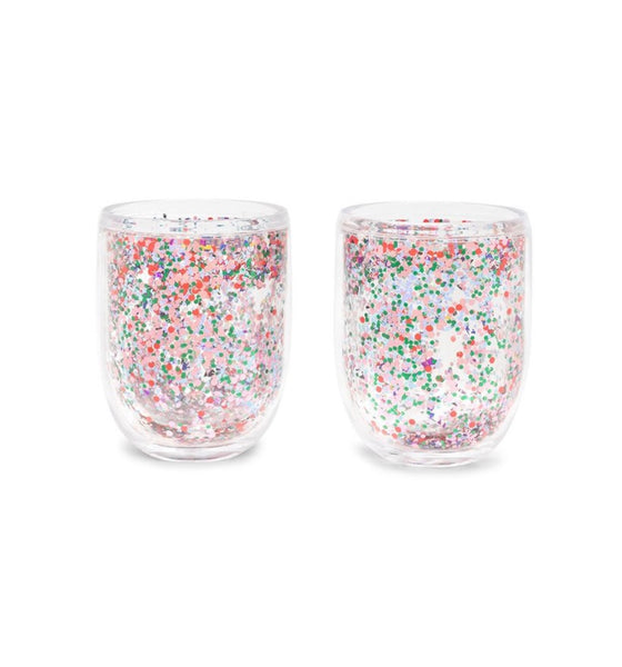 ban.do multi confetti glitter bomb tumbler set