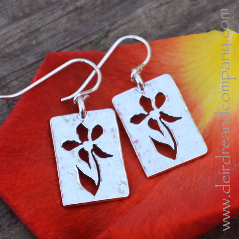 Blossom Earrings in Sterling