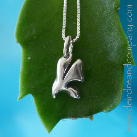 Sacraments Holy Spirit Dove Necklace in Sterling Silver