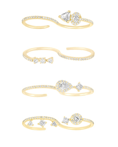 S Diamond Rings