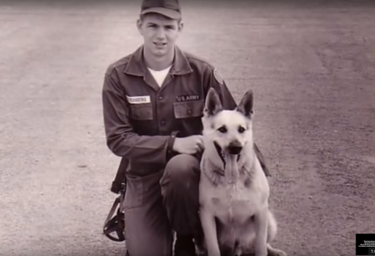 Soldiers and Their Dogs: A Video Compilation