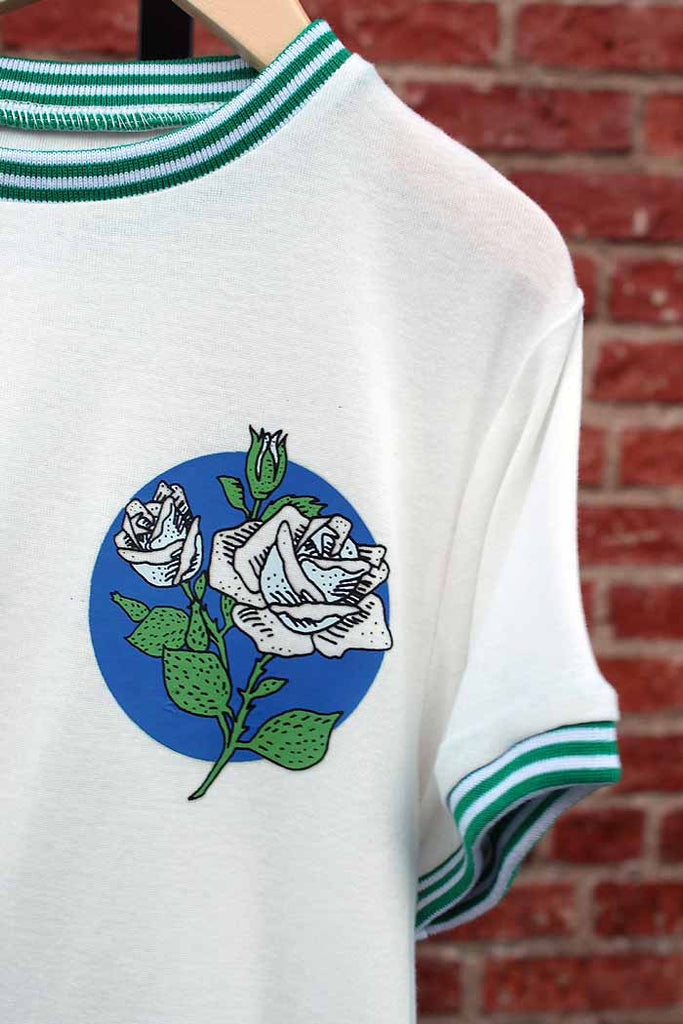 Atheletic Vintage Tee | Roses - Bam Kids
