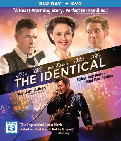 The Identical Blu-Ray + DVD Combo