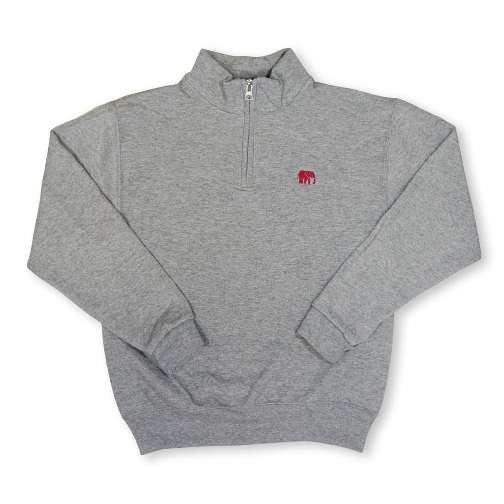 Elephant 1/4 Zip Sweatshirt