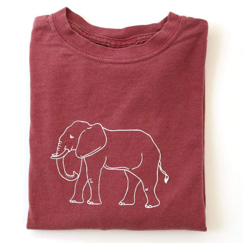 Elephant Long Sleeve Tee
