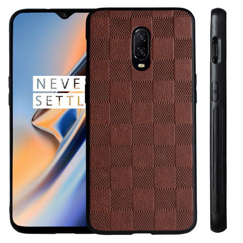 Ceego Elita Ultra Slim Back Case for One Plus 6T (Walnut Brown)