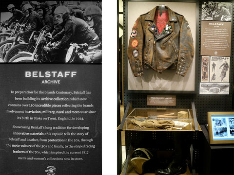 Belstaff first reveal of its archive: A history of speed and style