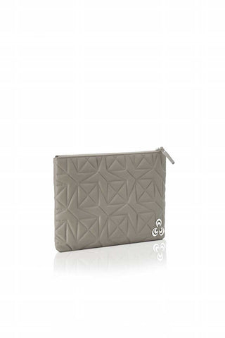 Dina at Mardin pouchette bag in Light Taupe , Pouchette bag - Misela, alimitlessworld