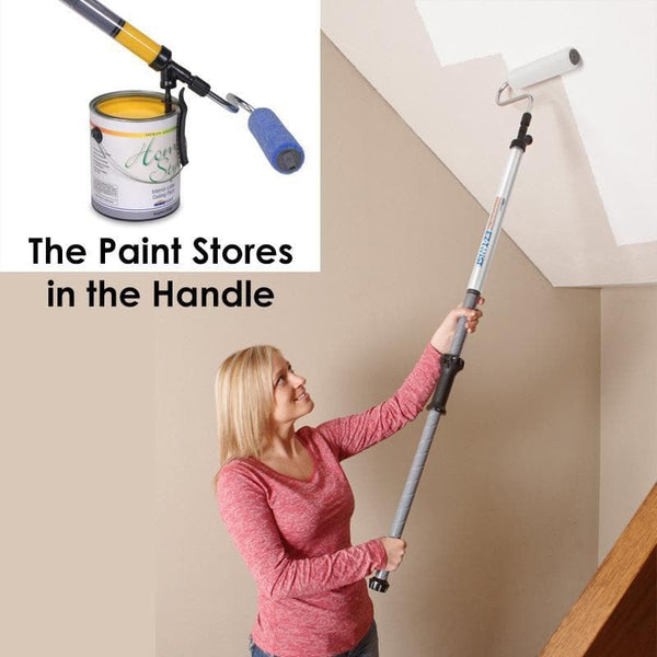 PaintStick - The Fast Paint Roller That Holds the Paint in the handle!