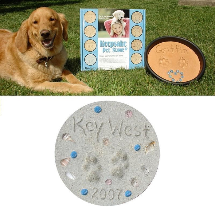 Pet Gift - Memory Capture Stone Making Kit for Pets