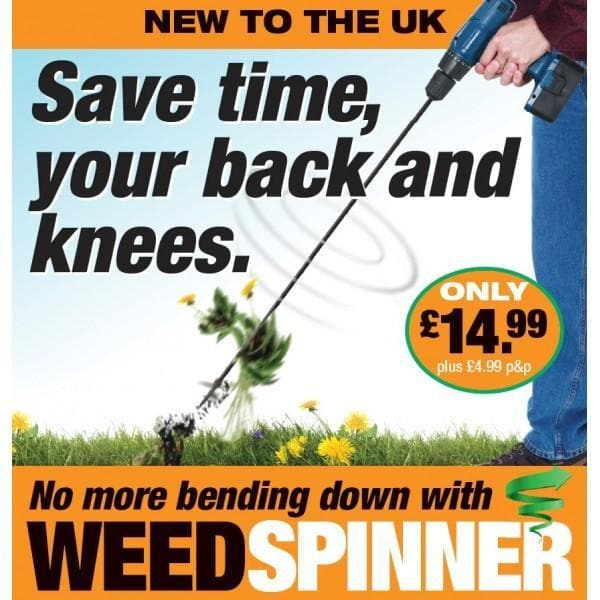 BEST BUY - The Weed Spinner Is The Easy Weed Removal Tool