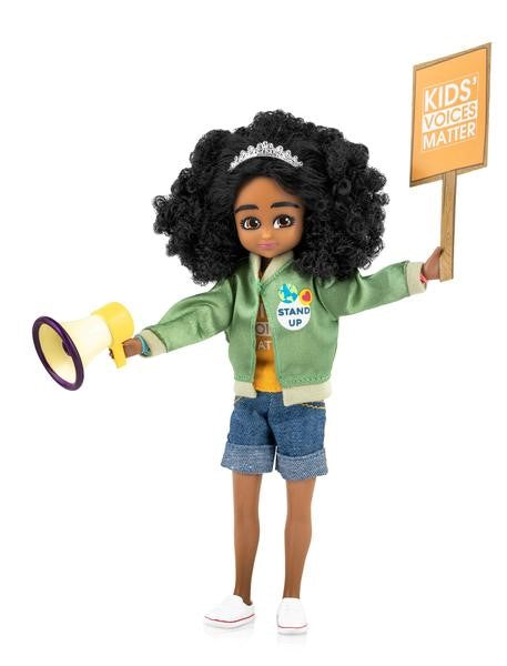 Lottie Doll - Kid Activist Meg