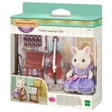 Sylvanian Families - Cello Concert Set