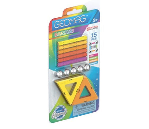 Geomag Rainbow 15 piece set