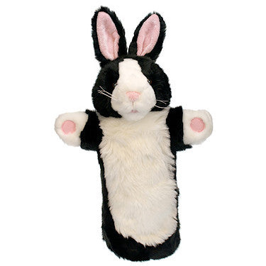 Black and White Rabbit Puppet Company