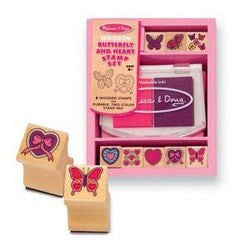 Butterfly and Heart Stamps by Melissa and Doug