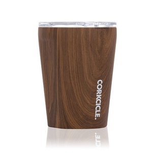 Personalized 12 oz Triple-Insulated Tumbler (Perfect for Coffee - Cocktails - Tea) - Walnut Wood - Biglove