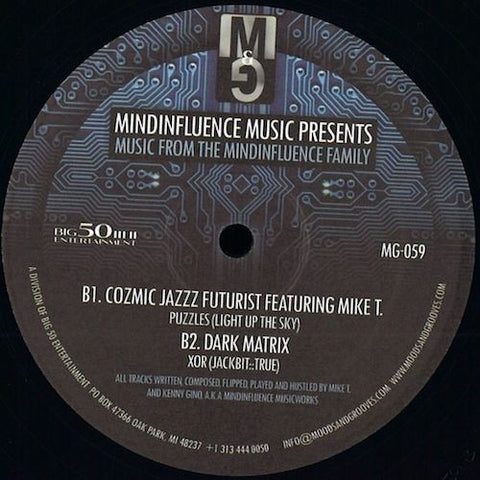 "Mindinfluence Music - Music From the Mindinfluence Family - 12"" - Moods & Grooves - MG-059"