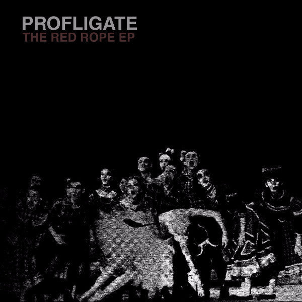 "Profligate - The Red Rope EP - 12"" - DKA Records - DKA003"
