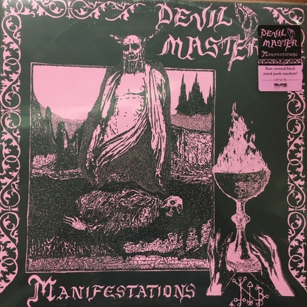 Devil Master - Manifestations - LP - Relapse Records - RR7417