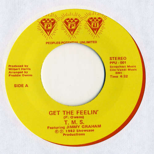 "T.M.S. / Caprice - Get the Feelin' / Candy Man - 7"" - Peoples Potential Unlimited - PPU-001"