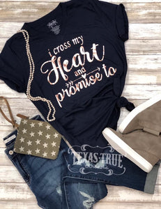 Cross My Heart Tee